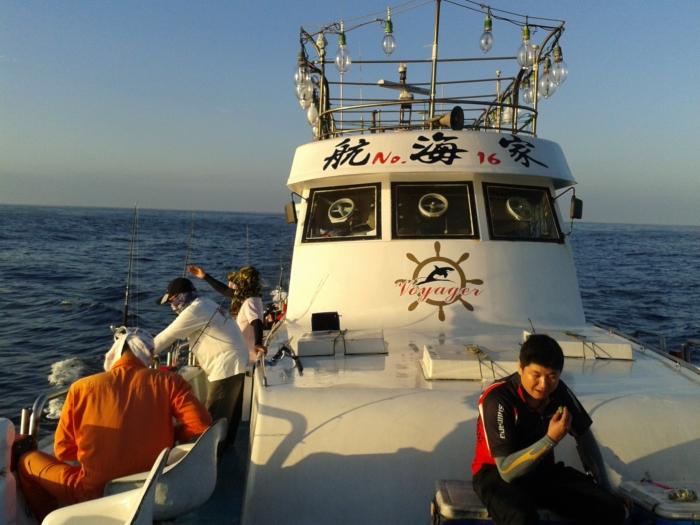 Tajwan - zaczynamy łowić
