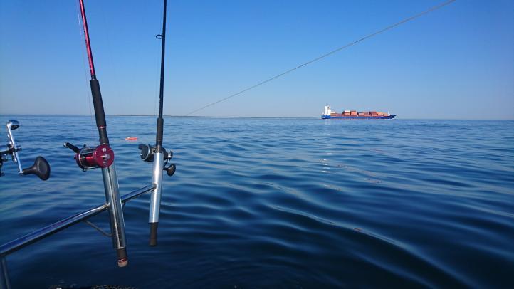 Większe planery spisywały się świetnie, w tle widać Hel i kontenerowiec idący małym torem wodnym